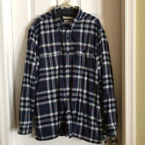 Super warm lined flannel